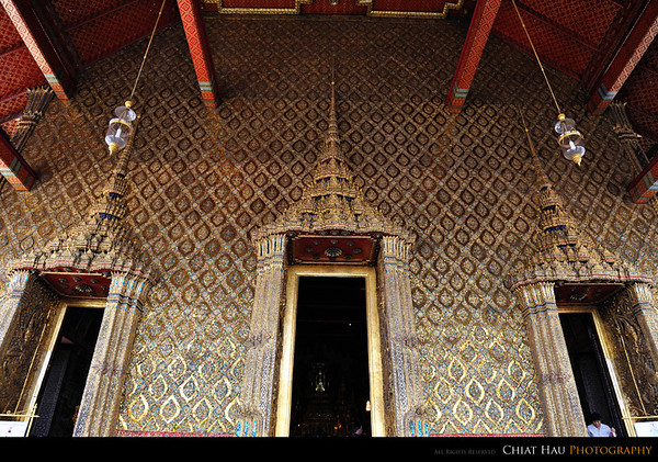 The entrace of a BIG temple