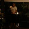 "Flooding at Rosambieng ""Dining car"" restaurant"