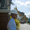 Guard at the Grand Palace in Bangkok