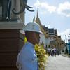 Guard at the Grand Palace in Bangkok
