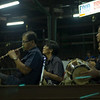 Musical accompaniment at Lumpini Stadium