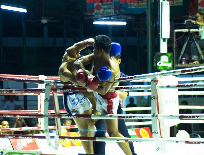 Muay Thai at Lumpini Stadium