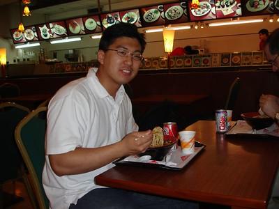 Chinese food at 6am at the Taipei airport