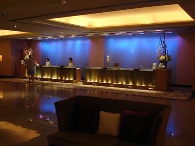 Lobby at the Westin