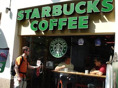 A Starbucks on every corner, feels just like home.