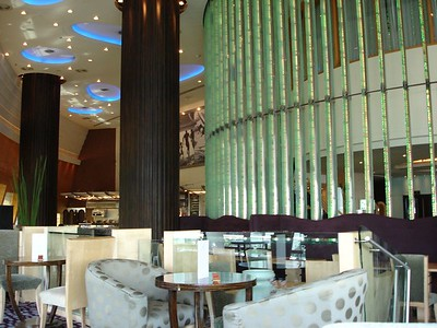 The bar at the Westin hotel