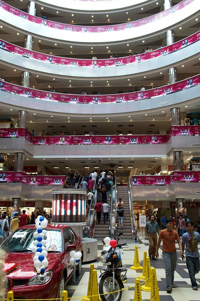 Most modern shopping mall in Dhaka.