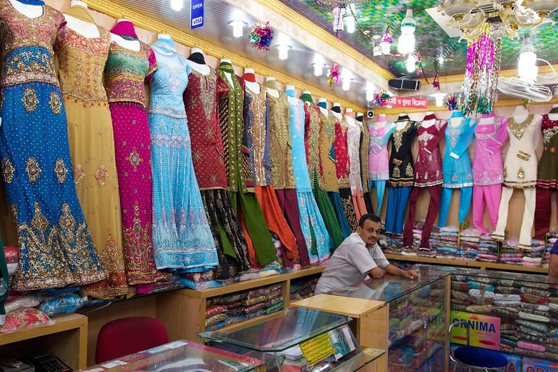 dress shop.