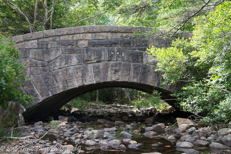 Carriage Bridge at Jordan Pond