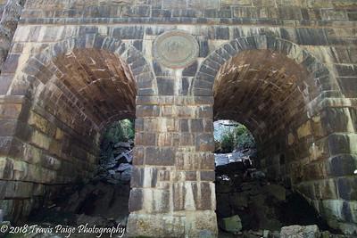 Carriage Road Bridge between Jordan Pond and Eagle Lake.