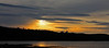 Sunset at  Bar Harbor.