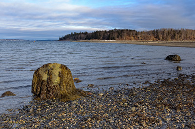 Bar Harbor in Winter