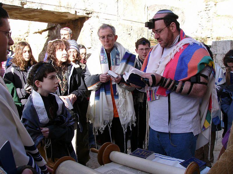 Rabbi speaks
