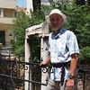 Dad near some Roman ruins