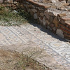 Mosaic floor of Church built within Hadrian's Library