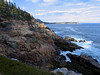 along the Otter Cliffs trail, a lovely trail along the high cliffs leading to Otter Point.