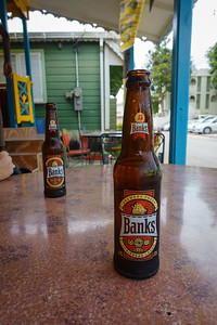Banks Beer At The One Love Bar