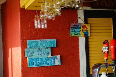 Beach Bar Signs