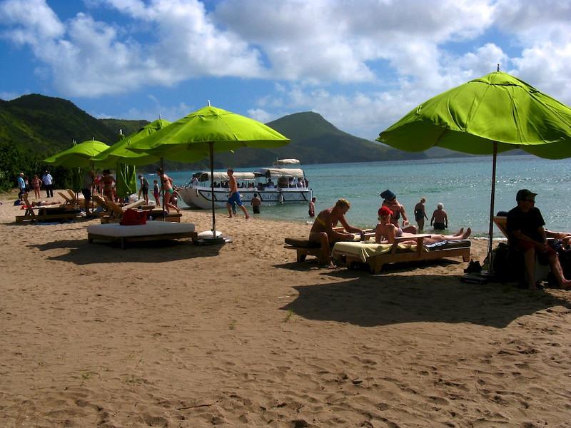 Ballast Bay on St. Kitts.