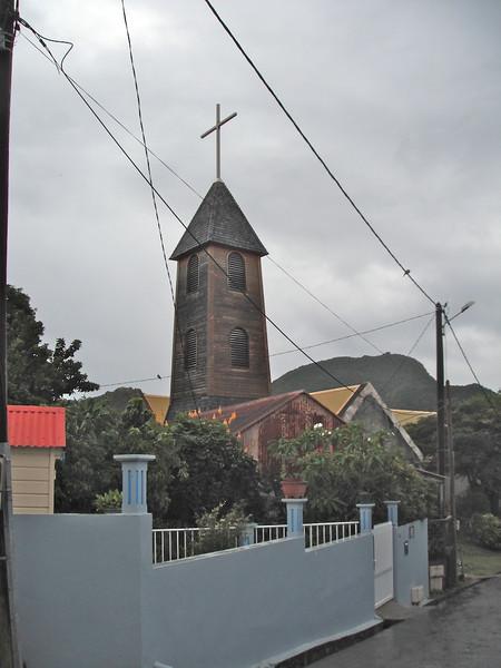 The Catholic church in Terre de Haut, Iles des Saintes, French West Indies