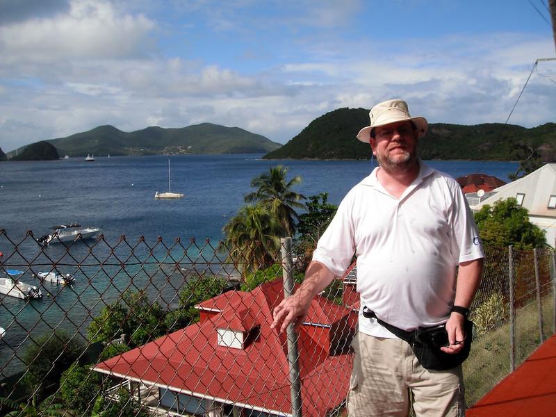 Stephen on Iles des Saintes, French West Indies