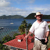 Stephen on Iles des Saintes, French West Indies