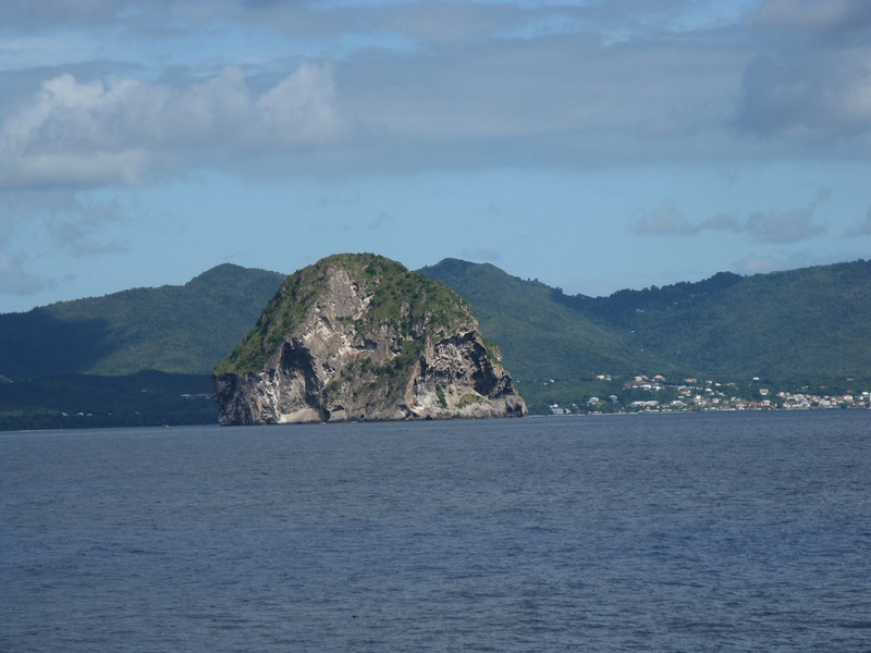 An impressive rock.