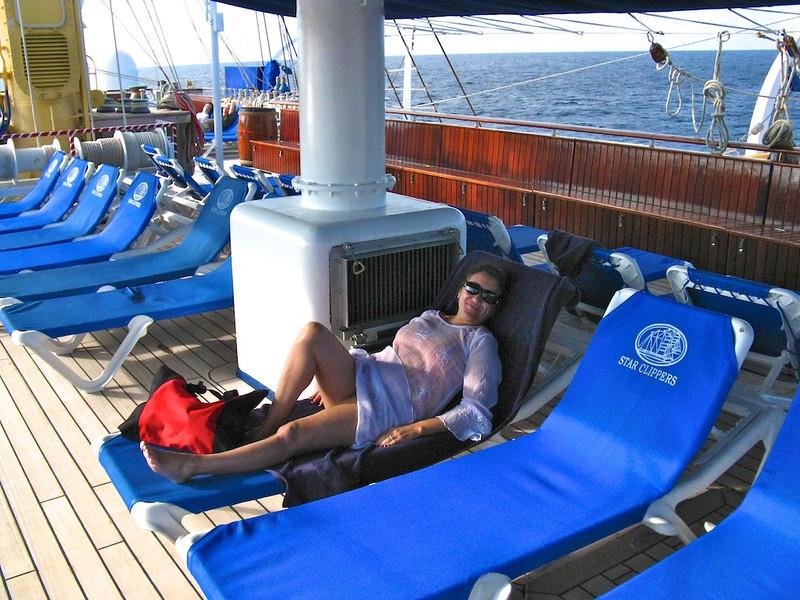 Cissa relaxing