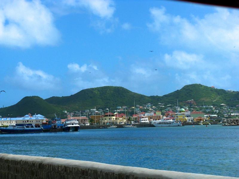 Basseterre Harbor on St. Kitts
