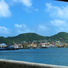 Basseterre Harbor on St. Kitts