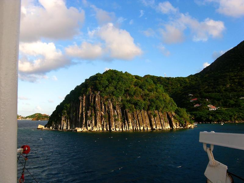 """Mini Sugarloaf"" on Iles des Saintes, French West Indies"