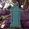 So the last Christian emperor of Byzantium is buried in Barbados? History is surprising.