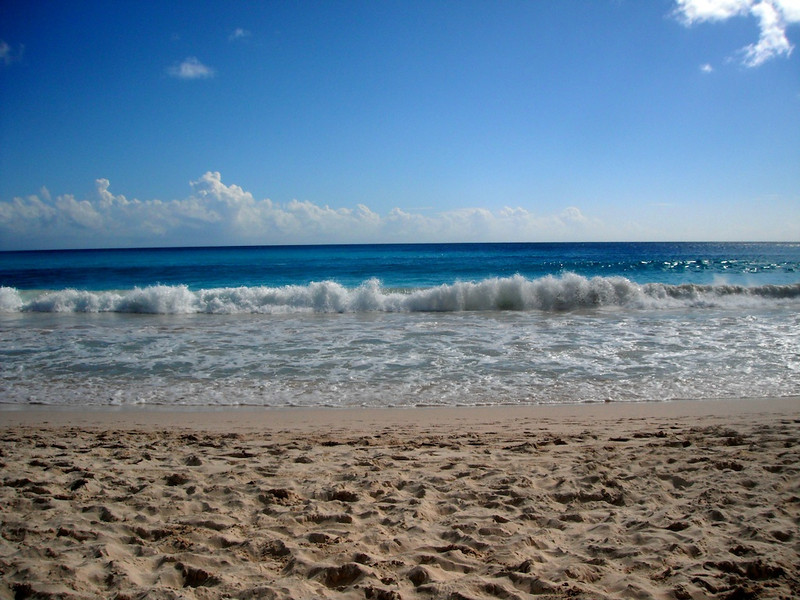 Your typical gorgeous beach in Barbados. This is about fifty feet from our hotel room.