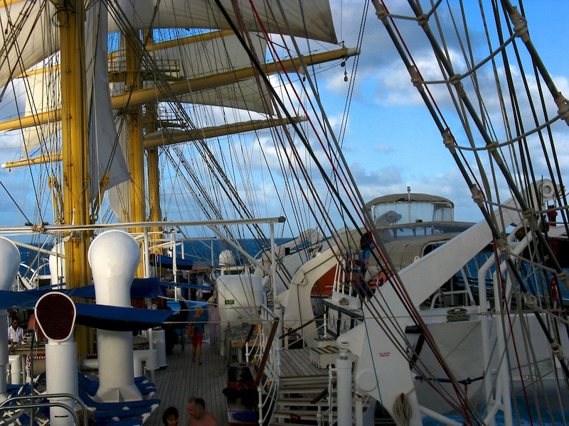The Royal Clipper is a complicated beast.