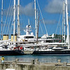 Conspicuous consumption in Falmouth Harbor, Antigua