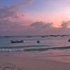 Fishing boats at sunset, Oistins, Barbados