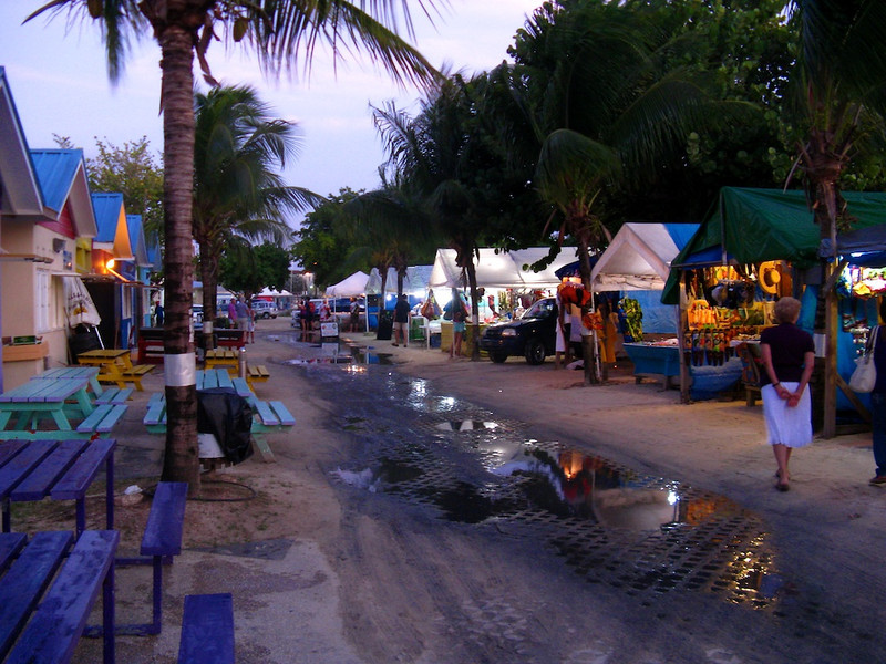 The Friday Night Fish Fry in Oistins, Barbados