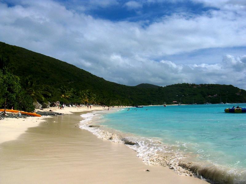 Your basic island paradise. The week before Christmas on Jost van Dyke.