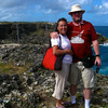 Stephen and Cissa at the north end of Barbados