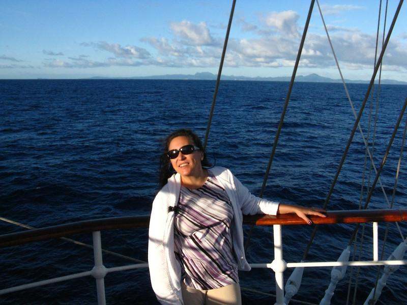 Cissa at sea