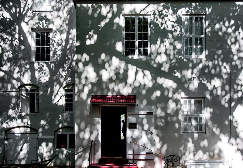 Shadows on St. Nickolas Abbey