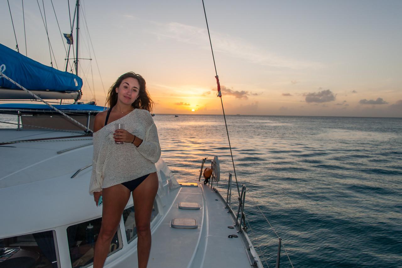 Barbados sunset cruise on Elegance