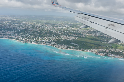 Barbados from the air