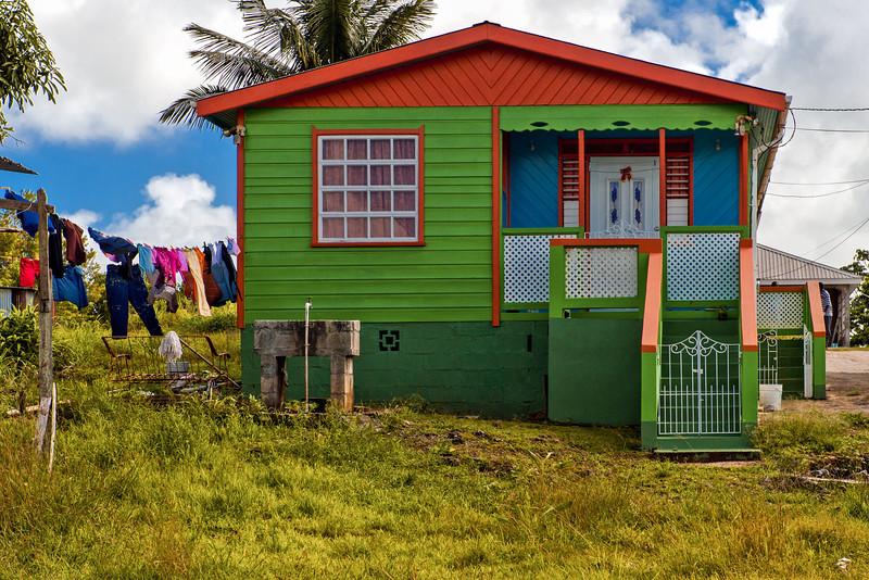Clolorful Bajan Chattle House