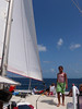 Catamaran sailing and snorkeling trip.