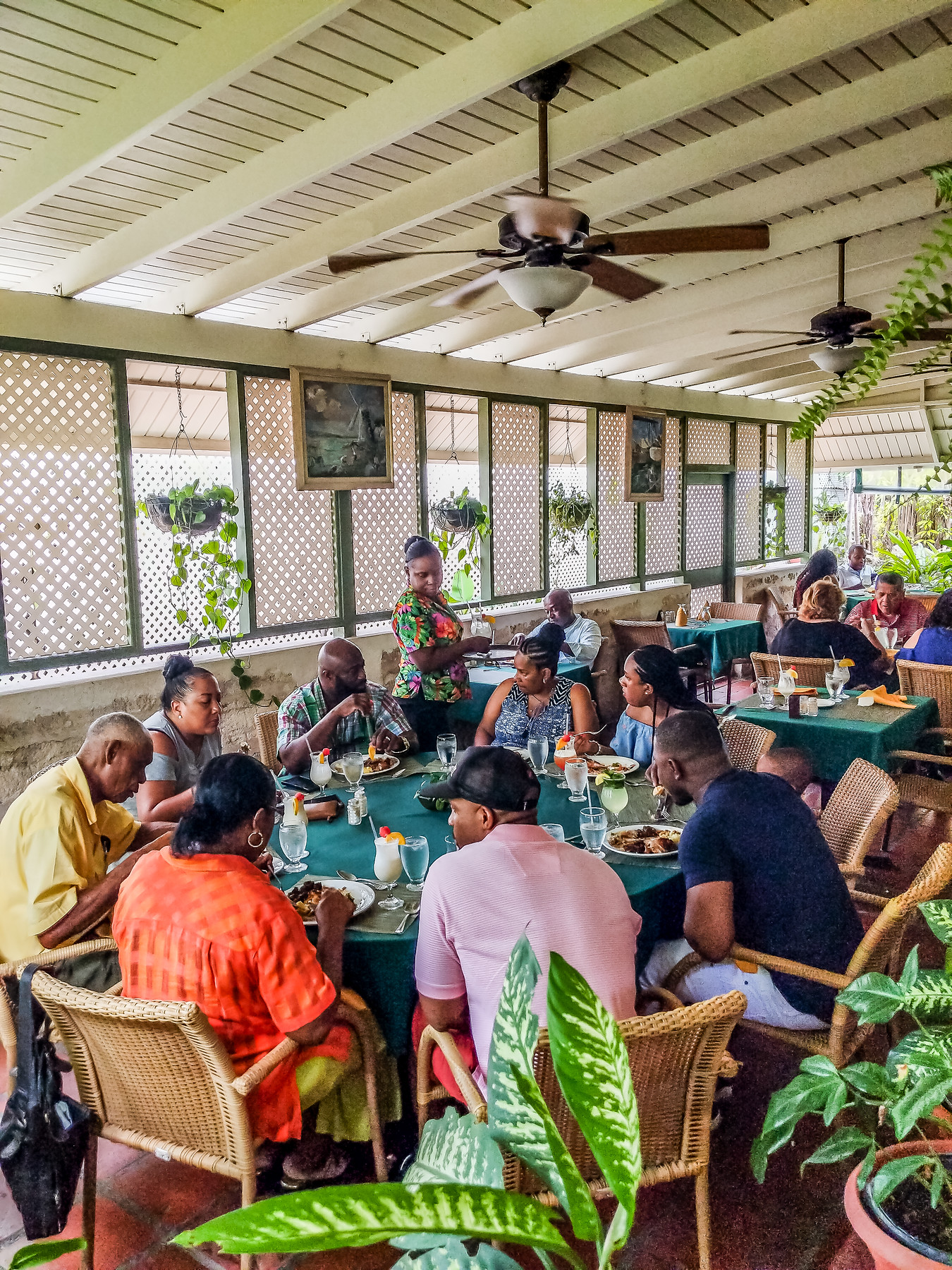 The best Barbados restaurants include Brown Sugar, which is well loved by locals for its buffet.