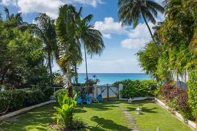 Weston House, Barbados - backyard.