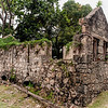 Ruins of Historic Home at Codrington College, Barbados