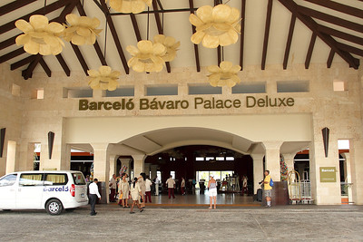 Hotel Barcelo Bavaro Palace Deluxe, Punta Cana, Dominican Republic (Feb. 22 - Mar. 2 2014)