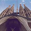 Gaudi's Sacreda Famillia, a work in progress.